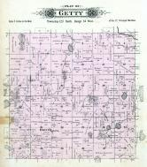 Getty Township, Unity, Stearns County 1896 published by C.M. Foote & Co